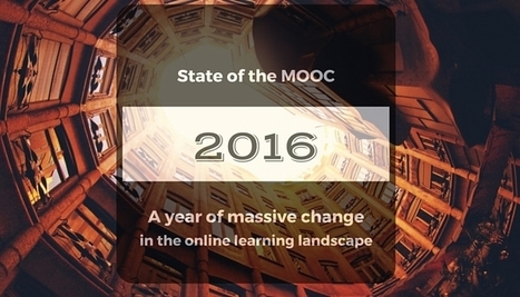 State of the MOOC 2016: A Year of Massive Landscape Change For Massive Open Online Courses | Easy MOOC | Scoop.it