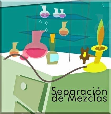SEPARACIÓN DE MEZCLAS: Química   CIENCIAS 2 Mixta   Scoop.it
