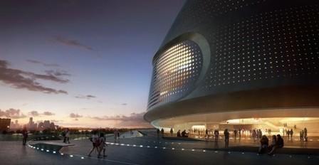 National Art Museum of China / UNStudio | Rendons visibles l'architecture et les architectes | Scoop.it