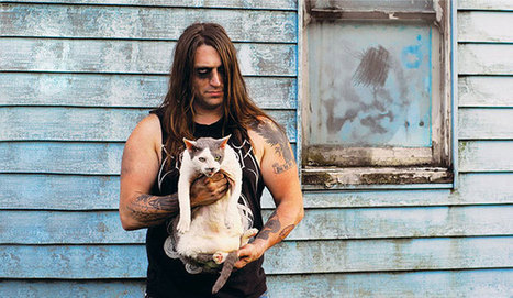 Metal Cats: Hardcore Metal Musicians Pose With Their Cats | Idea Inspired Photography Projects | Scoop.it