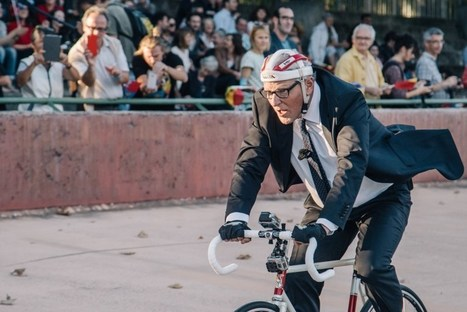 Jan Fabre parvient à ne pas battre le record du monde de l'heure d'Eddy Merckx | Le Mac LYON dans la presse | Scoop.it