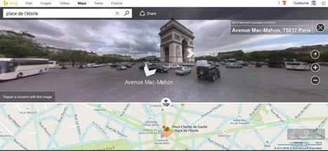 Bing Maps fait peau neuve et s'inspire de Google Maps   Cartographie XY   Scoop.it