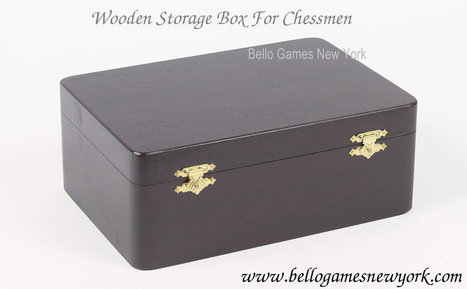 Wooden Chess Storage Box | Chess Boards and Pieces | Scoop.it