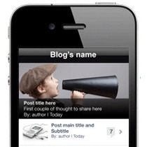 How to Turn Your WordPress Blog Into a Native iPhone App with WiziApp | SOCIAL MEDIA, what we think about! | Scoop.it