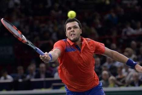 Jo-Wilfried Tsonga looking up at the competition at Mubadala World Tennis Championship | The National | Tennis | Scoop.it