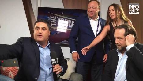 Left vs. Right in Cleveland. Alex Jones Confronts Cenk Uygur. Ana Kasparian Curses Profusely (VIDEO) - The Duran | Global politics | Scoop.it