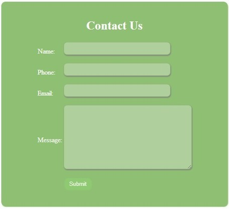PHP, MySQL, JS, jQuery, Ajax, .htaccess,robots.txt,phponwebsites: Create contact form and send mail using PHP | phponwebsites | Scoop.it