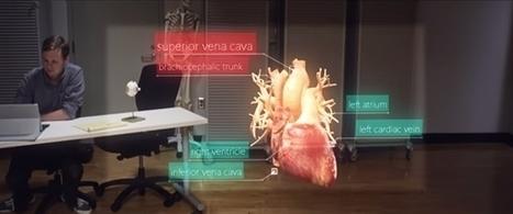 HoloLens : Microsoft montre enfin ce qu'on voit vraiment | Clic France | Scoop.it