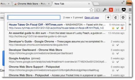 Una manera simple de ver los artículos guardados en Pocket desde Chrome | Pedalogica: educación y TIC | Scoop.it
