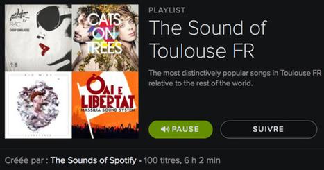 Des goûts musicaux différents en fonction des villes | Spotify LaLettrePro | Radio 2.0 (En & Fr) | Scoop.it