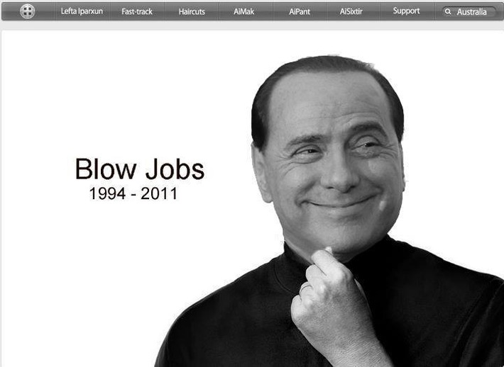 What could be a tribute to Silvio Berlusconi ? | Baie d'humour | Scoop.it