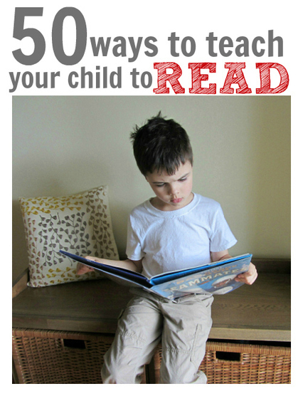 50 Ways To Teach Your Child To Read | Reading for all ages | Scoop.it
