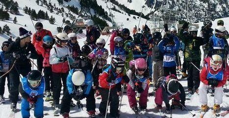 Vielle-Aure : tous les élèves ont clôturé une belle saison de neige | Vallée d'Aure - Pyrénées | Scoop.it