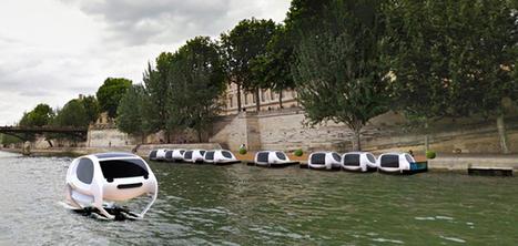 Sea Bubble : le taxi volant débarque bientôt à Paris | Nouvelles technologies | Scoop.it