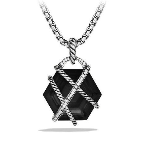 Cable Wrap Pendant with Diamonds   Blingy Fripperies, Shopping, Personal Stuffs, & Wish List   Scoop.it
