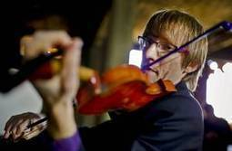 Oklahoma City violinist finds new music in broken instruments - NewsOK.com | Music Instruments | Scoop.it