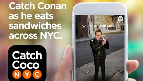 Conan O'Brien's New App Is a Pokemon Go-Style Game for Fans | Comedy Remedy | Scoop.it