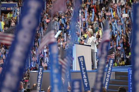 """Transcript: Hillary Clinton's Democratic National Convention speech, """"Trying, as best we can, to walk in each other's shoes."""" 