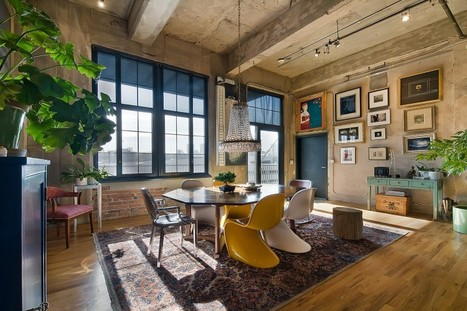 Stunning Loft in a Former Flour Mill in Denver | HomeDSGN, a daily source for inspiration and fresh ideas on interior design and home decoration. | Raw and Real Interior Design | Scoop.it