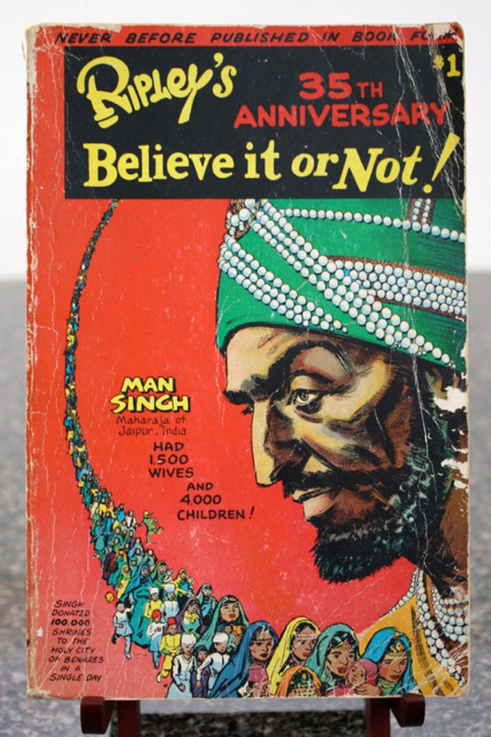 1954 Ripley's Believe It or Not 35th by PassionateKitsch on Etsy | Kitsch | Scoop.it