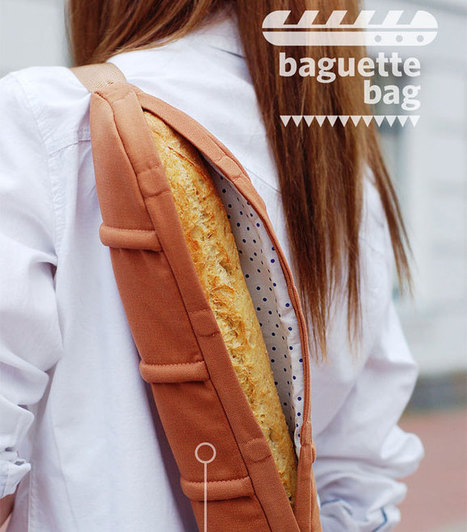 Baguette Bag | Art, Design & Technology | Scoop.it