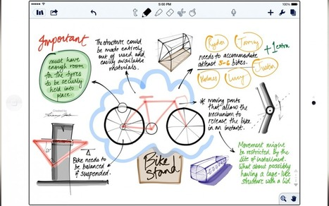 Note taking and the iPad - Educate 1 to 1 | iPads and Tablets in Education | Scoop.it