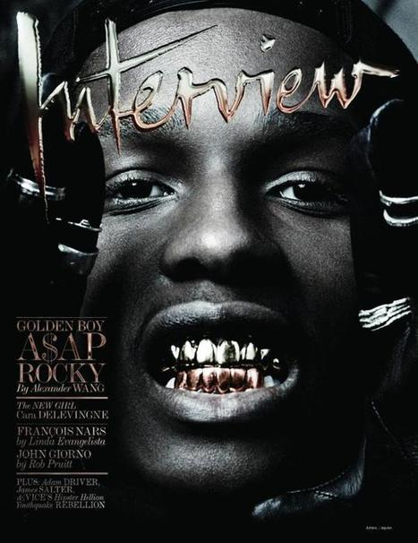 View image: A$ AP Rocky by Craig Mc Dean Interview Magazine   JIMIPARADISE!   Scoop.it