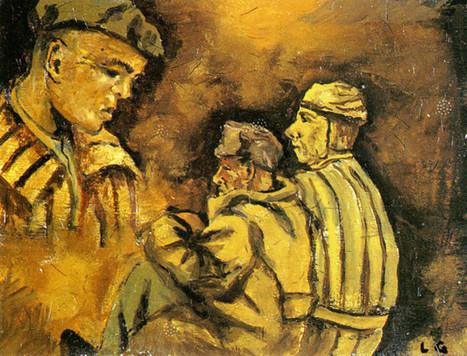 Buchenwald peint par Louis Le Gros - Hebdo Finistère Courrier Progrès | Expressionnisme en peinture et sculpture | Scoop.it