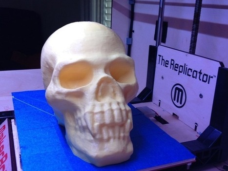 Skull with Pointed Teeth by akaziuna - Thingiverse | Product Design | Scoop.it