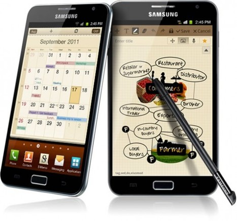 Prezzo Samsung Galaxy Note: dalla Francia Philippe Barthelet parla di 549€ | Android News Italia | Scoop.it