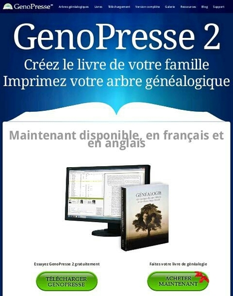 Choisir un logiciel de genealogie pour l'entrée de données et la qualité de l'export Gedcom | ressources GenoPresse | Nos Racines | Scoop.it