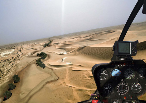 magnus larsson sculpts the saharan desert with bacteria | Urban Choreography | Scoop.it