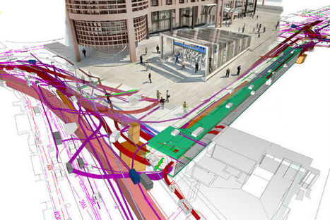London's Crossrail Spreads the Benefits of BIM | cad | Scoop.it