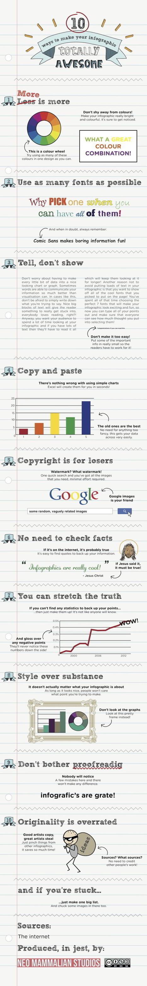 10 manières de rater vos infographies - Choblab | DataVizz | Scoop.it