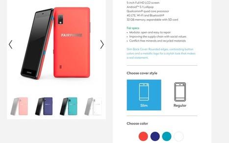 Le Fairphone 2 s'offre un nouveau look pour la fin d'année - Tech - Numerama | Coopération, libre et innovation sociale ouverte | Scoop.it
