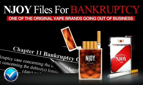 Breaking News: NJOY Declares Bankruptcy   E Cig - Electronic Cigarette News   Scoop.it