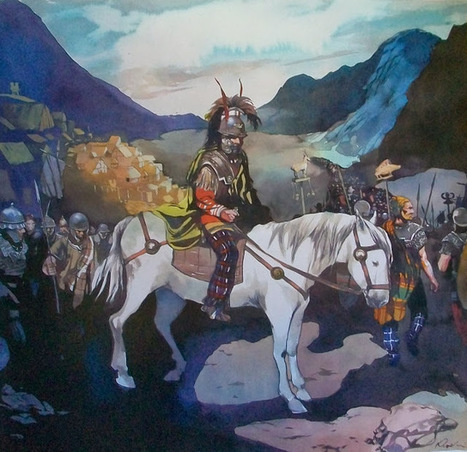 La guerre des Gaules: Les troupes de Vercingétorix quittent Gergovie...   La Guerre des Gaules en BD   Scoop.it