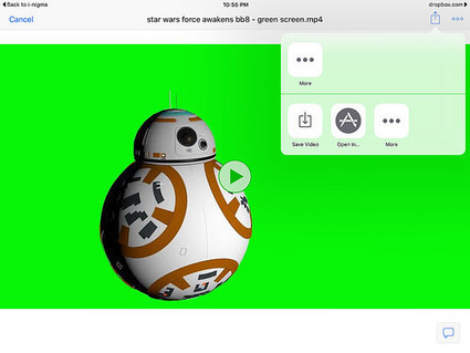 Save YouTube Videos to iPad Camera Roll for Green Screen Compositing | An Eye on New Media | Scoop.it
