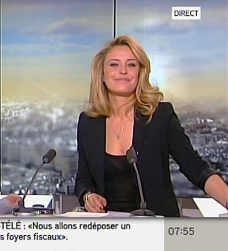 Le soutien-gorge sexy d'Isabelle Moreau (I-Télé) ! - photo | Radio Planète-Eléa | Scoop.it