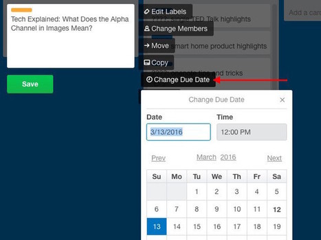10 Creative Ways to Manage Your Life with a Trello Calendar | SoShake | Scoop.it