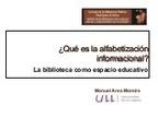 Alfabetizacion Informacional Bibliotecas | Bibl... | ALFIN Iberoamérica | Scoop.it
