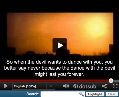 "Learn English Vocabulary with ""Dance with the devil"" Immortal Technique's powerful & tough, shocking  song.. Not for all ears.how drugs and crime destroy communities every day. .a story about a boy... 