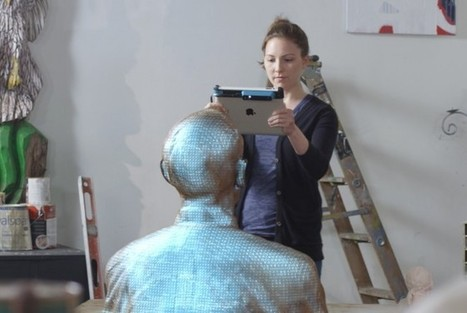 This Amazing Accessory Turns Your iPad Into a 3-D Scanner | Wired Design | Wired.com | in progress | Scoop.it