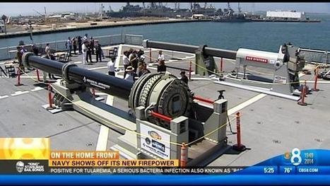 L'US Navy présente au public son arme de nouvelle génération, le canon électromagnétique développé par BAE Systems   Veille Domaine Naval   Scoop.it