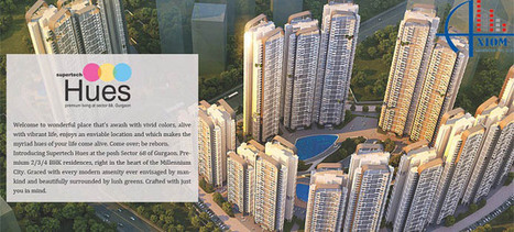 Supertech HUES Gurgaon new project launch at sector 68 Sohna Road, Gurgaon | 2 bhk flat for sale in Gurgaon | Scoop.it