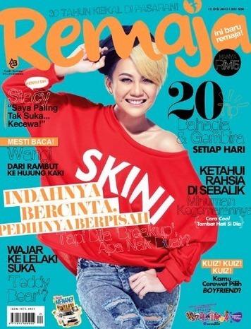 Stacy Hiasi Muka Depan Majalah Remaja, Funky! | Viva Technics | Celebrities & Stars & Entertainment & Travel & Sports | Scoop.it