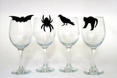 DIY Hallowine wine glasses... | Quirky wine & spirit articles from VINGLISH | Scoop.it