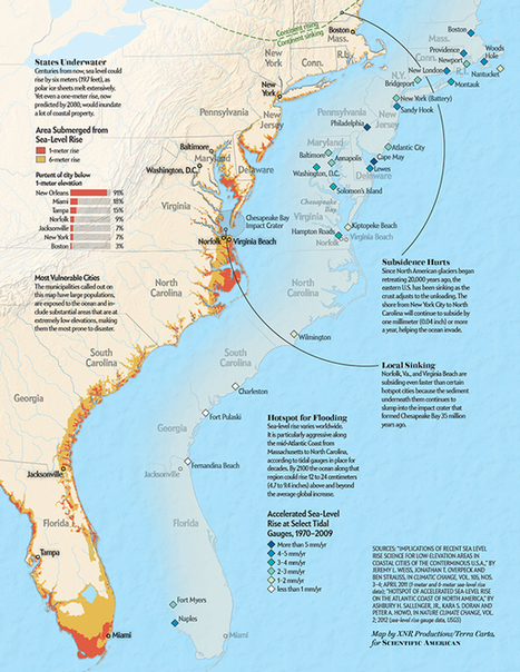 East Coast Is Extremely Vulnerable to Hurricane Flooding - Scientific American | Sustain Our Earth | Scoop.it