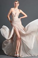 [USD 126.73] eDressit Stylish Ruched bodice Evening Dress (00120514) | edressit collection | Scoop.it
