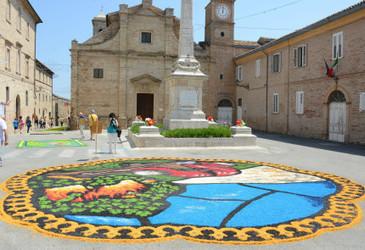 L'infiorata a Montefiore dell'Aso | Le Marche un'altra Italia | Scoop.it